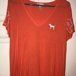 Orange PINK T-shirt, NEVER WORN, no tags